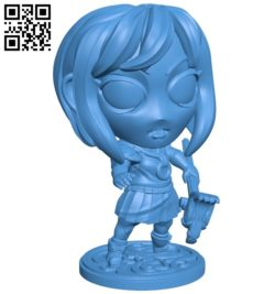 Miss Chise B007092 file stl free download 3D Model for CNC and 3d printer
