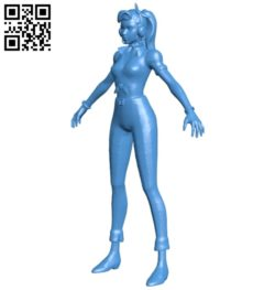 Miss DVa Cruiser R100 B006911 file stl free download 3D Model for CNC and 3d printer