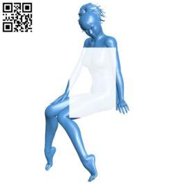 Miss Diana R100 B006912 file stl free download 3D Model for CNC and 3d printer