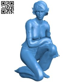 Miss Faerie B007029 file stl free download 3D Model for CNC and 3d printer
