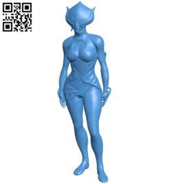 Miss Lotus B007048 file stl free download 3D Model for CNC and 3d printer