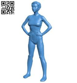 Miss Nova Power B006886 file stl free download 3D Model for CNC and 3d printer