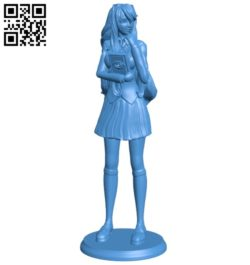 Miss Yuri B006981 file stl free download 3D Model for CNC and 3d printer