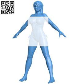 Miss momiji B007085 file stl free download 3D Model for CNC and 3d printer