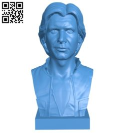Mr Harrison Ford B007098 file stl free download 3D Model for CNC and 3d printer