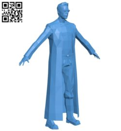 Mr Neo – the matrix B007097 file stl free download 3D Model for CNC and 3d printer
