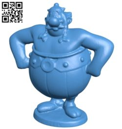 Mr Obelix B007066 file stl free download 3D Model for CNC and 3d printer