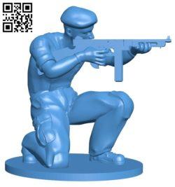 Mr Paratrooper B006693 file stl free download 3D Model for CNC and 3d printer