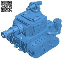 Orc Tank B006990 file stl free download 3D Model for CNC and 3d printer
