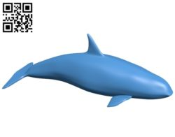 Orca – fish B007057 file stl free download 3D Model for CNC and 3d printer