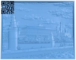 Palace painting A004740 download free stl files 3d model for CNC wood carving