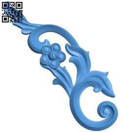 Pattern dekor design A004634 download free stl files 3d model for CNC wood carving