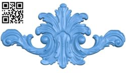 Pattern dekor design A004635 download free stl files 3d model for CNC wood carving