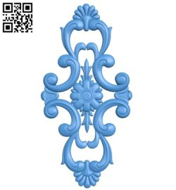 Pattern dekor design A004650 download free stl files 3d model for CNC wood carving