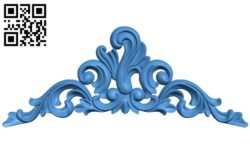 Pattern dekor design A004657 download free stl files 3d model for CNC wood carving
