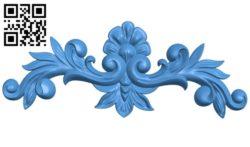 Pattern dekor design A004658 download free stl files 3d model for CNC wood carving