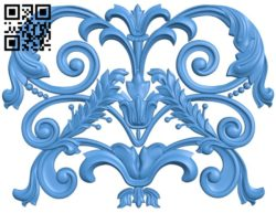 Pattern dekor design A004659 download free stl files 3d model for CNC wood carving