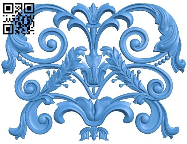 Pattern dekor design A004659 download free stl files 3d model for CNC wood carving