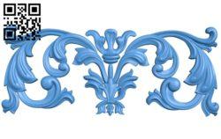 Pattern dekor design A004660 download free stl files 3d model for CNC wood carving