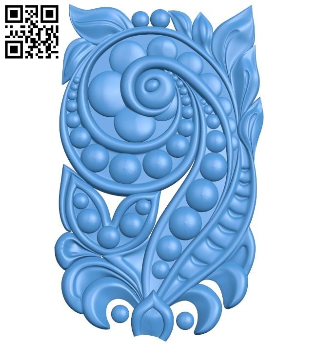 Pattern dekor design A004669 download free stl files 3d model for CNC wood carving