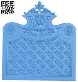 Pattern dekor design A004672 download free stl files 3d model for CNC wood carving