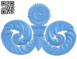 Pattern dekor design A004692 download free stl files 3d model for CNC wood carving