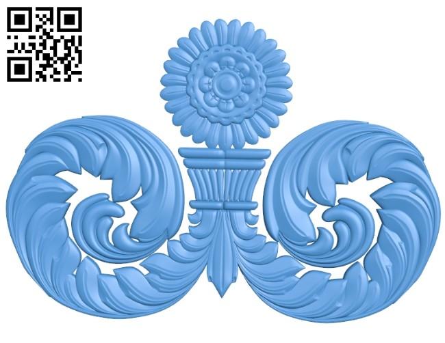 Pattern dekor design A004692 download free stl files 3d model for CNC wood carving