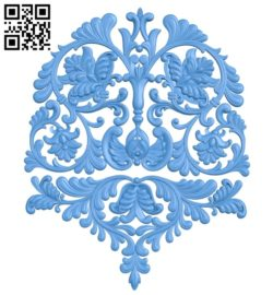 Pattern dekor design A004717 download free stl files 3d model for CNC wood carving