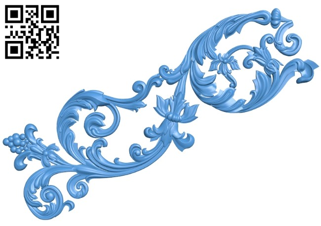 Pattern dekor design A004722 download free stl files 3d model for CNC wood carving