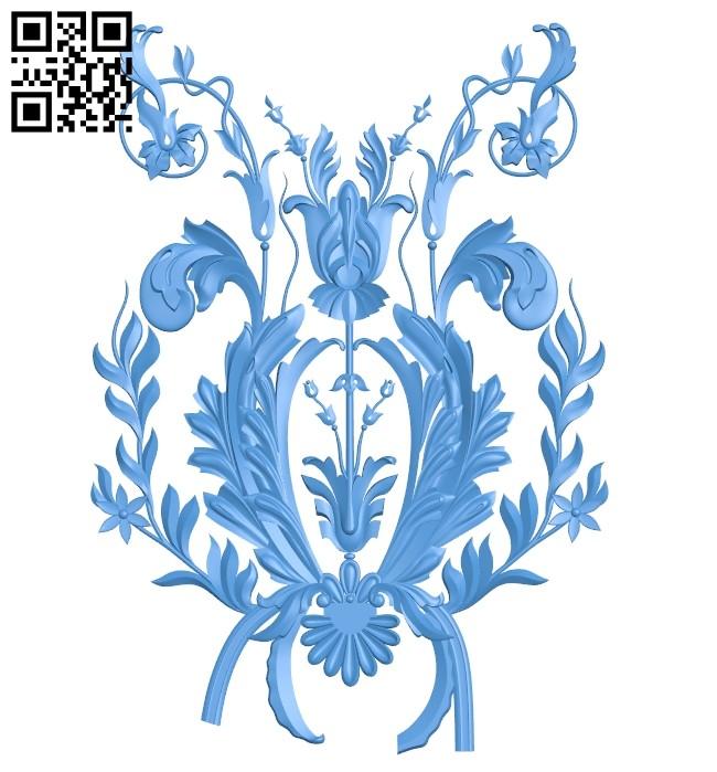 Pattern dekor design A004725 download free stl files 3d model for CNC wood carving