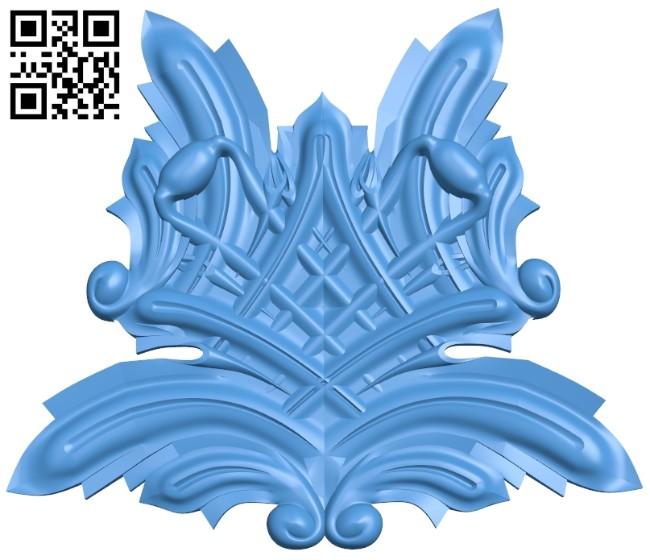 Pattern dekor design A004743 download free stl files 3d model for CNC wood carving