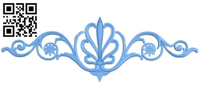 Pattern dekor design A004749 download free stl files 3d model for CNC wood carving