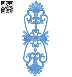 Pattern dekor design A004761 download free stl files 3d model for CNC wood carving