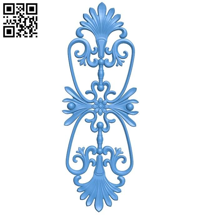 Pattern dekor design A004761 download free stl files 3d model for CNC wood carving