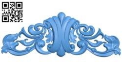 Pattern dekor design A004764 download free stl files 3d model for CNC wood carving