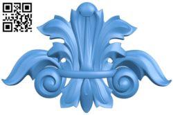 Pattern dekor design A004765 download free stl files 3d model for CNC wood carving