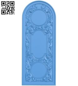 Pattern of arched doors A004712 download free stl files 3d model for CNC wood carving