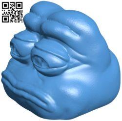 Pepe Head B006825 file stl free download 3D Model for CNC and 3d printer