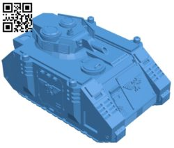 Predator tank B006870 file stl free download 3D Model for CNC and 3d printer