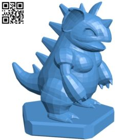 Queen Nidoqueen – pokemon B006777 file stl free download 3D Model for CNC and 3d printer