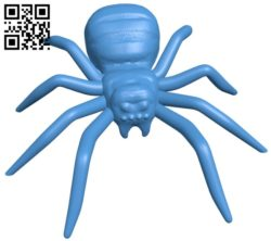 Realistic spider B006850 file stl free download 3D Model for CNC and 3d printer