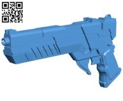 Red hood gun B007087 file stl free download 3D Model for CNC and 3d printer