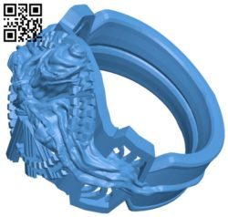 Ring of the lucii B006786 file stl free download 3D Model for CNC and 3d printer