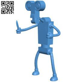 Robot B006792 file stl free download 3D Model for CNC and 3d printer