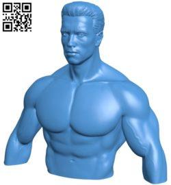 Robot T-800 B006684 file stl free download 3D Model for CNC and 3d printer