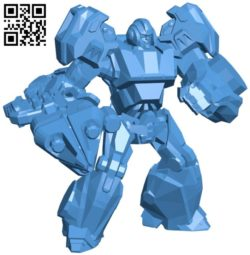 Robot ironhide B006662 file stl free download 3D Model for CNC and 3d printer