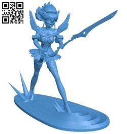 Ryuko Matoi B007015 file stl free download 3D Model for CNC and 3d printer