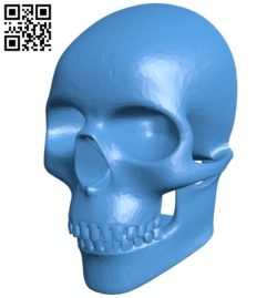 Skull mask B006905 file stl free download 3D Model for CNC and 3d printer