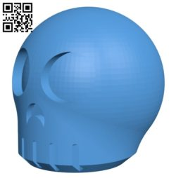Skully B007096 file stl free download 3D Model for CNC and 3d printer