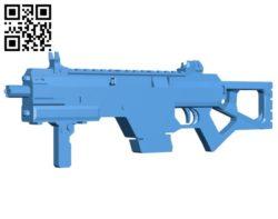 Smg titanfall gun B006673 file stl free download 3D Model for CNC and 3d printer